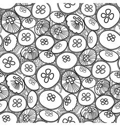 jellyfish pattern vector image