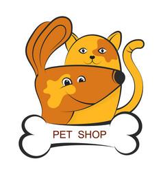 Shop for pets vector