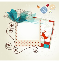 Scrapbook kit vector image