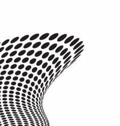 tall wave crash vector image