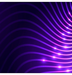 abstract background with curves vector image