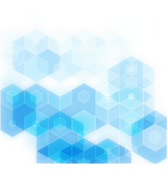 Blue grid mosaic background creative design vector