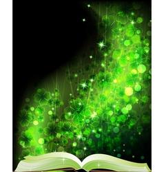 Fairy tales book vector