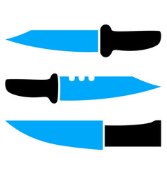 Knives icon vector