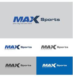 Max sports logo vector