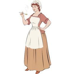 French cook vector