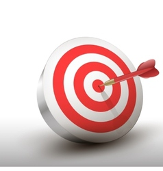 Red Darts vector image