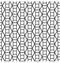 geometric wall decor vector image vector image