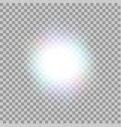 Glowing light effect vector