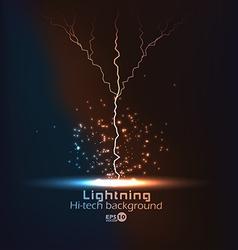 lighting vector image