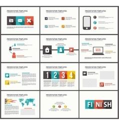 Business template brochure vector