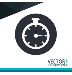 Chronometer icon desig vector