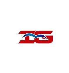 Ig letter logo vector