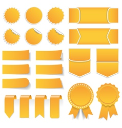 Price tags labels stickers vector