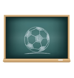 Board sport ball vector