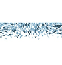 Blue and white abstract banner vector