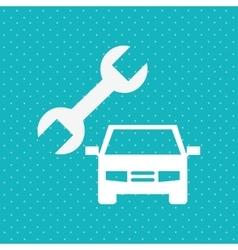 car repair service design vector image vector image