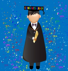 Graduation celebration vector