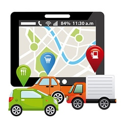 Gps tech vector