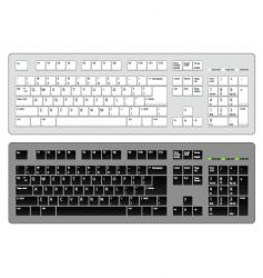 keyboard computer vector image