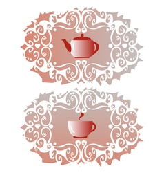 Tea-cloth vector