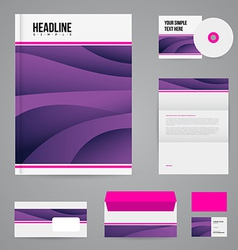 Branding design template vector