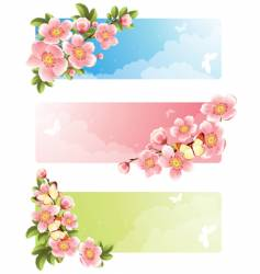 flower bloom vector image vector image