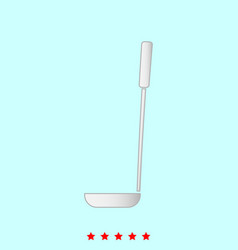 soup ladle it is icon vector image vector image