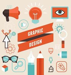 Vetor graphic designer vector image vector image