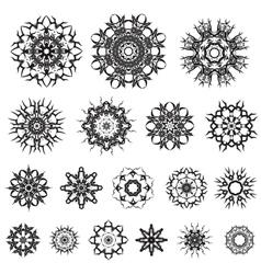 Tribal Rosette Tattoo vector image