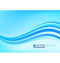 Wavy lines background vector