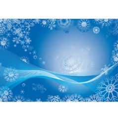 Snowflake abstract background vector