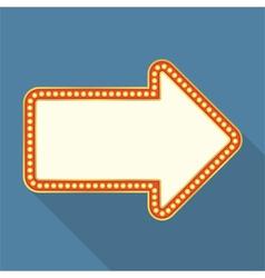Retro Arrow Banner vector image