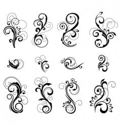 Floral patterns vector