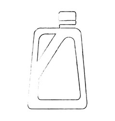 gallon plastic isolated icon vector image