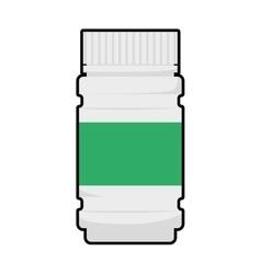 Medicine jar icon Medical and Health care vector image