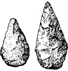 Stone age vector