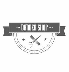 Vintage barbershop logo vector