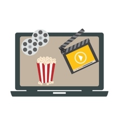 Video or film icon image vector