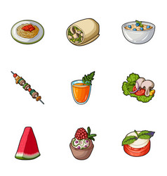 pictures about vegetarianism vegetarian dishes vector image