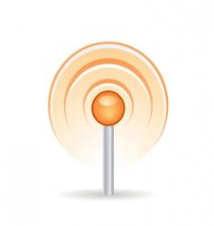 Signal icon vector