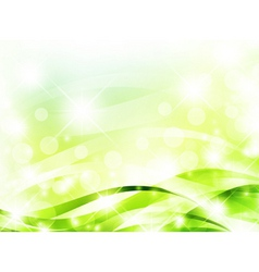 Bright light green background vector