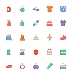 Clothes icons 9 vector
