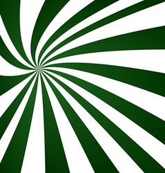 Green swirling ray pattern design vector