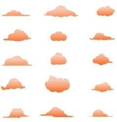 Cloud collection 5 vector