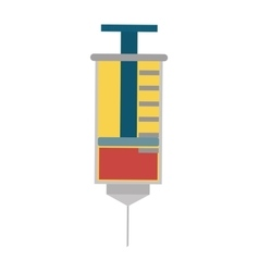 Injection icon medical and health care design vector