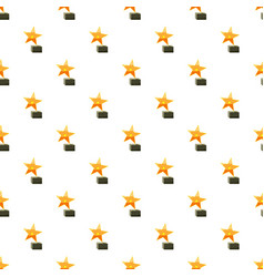 Award star pattern vector