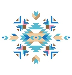 Colorful tribal design element vector