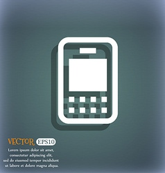 Mobile telecommunications technology icon symbol vector