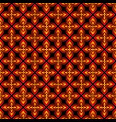 creative flower design pattern vector image vector image